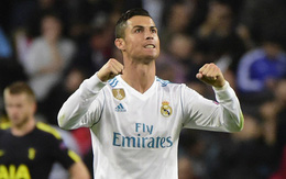 Ronaldo ghi bàn trên chấm penalty, Real Madrid thoát thua Tottenham