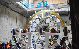 Cận cảnh robot siêu khủng, hiện đại nhất thế giới sẽ đào gần 800m đường hầm cho Metro Sài Gòn