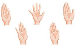Xem cách mở bàn tay khi bắt tay để biết ai là người chủ động, bị động
