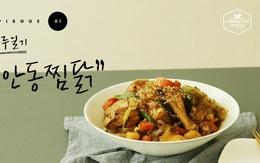 Cuối tuần này làm 1 nồi gà nấu miến kiểu Hàn vừa lạ miệng lại chẳng mất công rửa bát