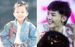 Từ bé đến lớn, G-Dragon vẫn luôn trung thành với kiểu tóc này!