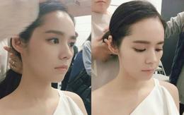 """Đẳng cấp góc nghiêng """"đẹp nín thở"""" của """"nữ thần trong mọi nữ thần"""" Han Ga In"""