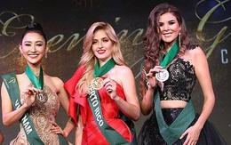Giành giải đồng thứ hai, Hà Thu đang là ứng viên nặng ký cho vương miện Hoa hậu Trái đất 2017!
