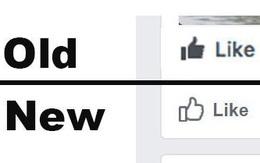 Có thể bạn không nhận ra nhưng nút 'like' của Facebook đang thay đổi dần đấy