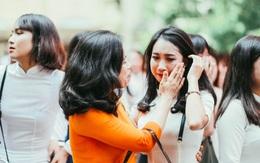 Teen Việt Đức sẽ nhớ lắm những cái ôm, những giọt nước mắt chia tay trong lễ bế giảng sáng nay!