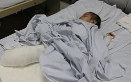 Gia đình ở Sơn La bị sạt lở núi san bằng nhà cửa: Mẹ nguy kịch, con trai 4 tuổi phải cắt cụt 2 chân