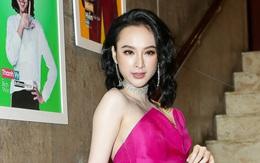"""Angela Phương Trinh diện đầm hồng cánh sen, nổi bần bật tại buổi ra mắt """"Glee"""" bản Việt"""