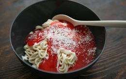 Nhìn món ăn này, ai cũng tưởng mì Ý nhưng sự thật sẽ khiến bạn... té ngửa
