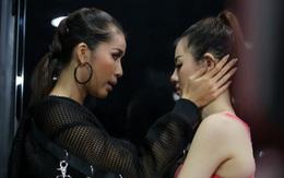 """Thêm loạt hình team Minh Tú: người khóc nức nở, người bị Lan Khuê """"chỉnh đốn"""""""