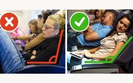Muốn có giấc ngủ ngon trên máy bay, bạn hãy nắm vững 8 bí kíp này