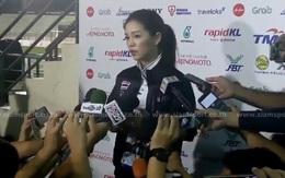 Nữ trưởng đoàn Wongopasi ám chỉ U22 Việt Nam luôn lo sợ khi đối đầu Thái Lan?
