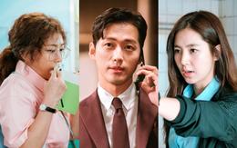 """""""Sếp"""" Nam Goong Min bị """"kẹp giữa"""" bà hoàng phòng vé và nữ hoàng nội y xứ Hàn"""