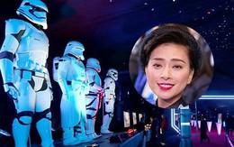 """Ngoài góp mặt trong """"Star Wars"""", Ngô Thanh Vân còn là khách mời danh dự của Star Wars Party"""