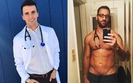 Người mẫu, diễn viên đẹp trai đã là gì; giờ mốt phải là nam bác sĩ, y tá đẹp đến rụng rời