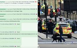 Thông điệp mã hóa vụ khủng bố London được tung lên mạng 24 giờ trước đó