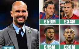 """9 năm cầm quân, Pep Guardiola """"đốt"""" hơn 1 tỷ euro cho chuyển nhượng"""