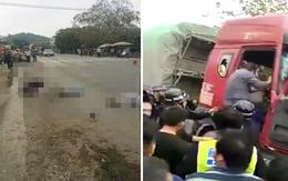 """""""Xe tải điên"""" lao thẳng vào đoàn học sinh đang băng qua đường, nhiều em bị thương"""