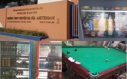 Trường chuyên Hà Nội Amsterdam ngang nhiên kinh doanh thuốc lá trong trường học
