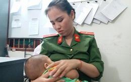 Cái kết có hậu cho bé trai bị bỏ rơi trong nhà nghỉ ở Hà Nội, được nữ công an cho bú