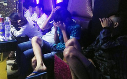 Đồng Nai: Đột kích bất ngờ, bắt nhiều dân chơi mở tiệc ma tuý trong phòng karaoke
