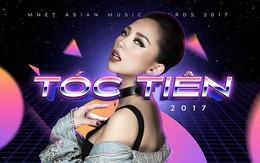 """Hành trình đưa Tóc Tiên chạm tay vào chiếc cúp """"Nghệ sĩ xuất sắc nhất tại Việt Nam"""" trong đêm trao giải MAMA 2017"""