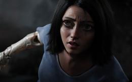 """Đôi mắt ngoại cỡ của người máy trong """"Alita: Battle Angel"""" làm người xem hoảng sợ!"""
