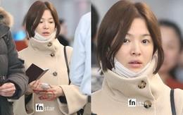 Song Hye Kyo lộ mặt mộc thiếu sức sống, môi nứt nẻ trong lần đầu xuất hiện công khai sau đám cưới
