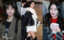 """Ghi điểm nhờ chân dài miên man, nữ thần Seolhyun cùng các thành viên AOA lại """"dọa fan"""" với mặt trắng bệch, bóng nhờn"""