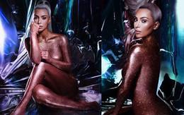 Lần đầu tiên Kim Kardashian khỏa thân đầy nghệ thuật, vừa đẹp vừa sang mà chẳng hề phản cảm