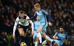 00h30 TRỰC TIẾP: Man City - Tottenham: David Silva vắng mặt