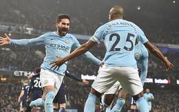 Man City vùi dập Tottenham, thống trị Premier League