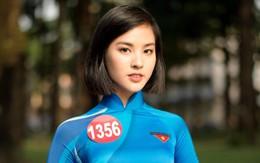 Không chiến thắng nhưng Á khôi 1 (Hoa khôi Sinh viên Việt Nam) vẫn gây chú ý vì quá xinh và đa tài