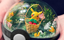 Những khu vườn Pokeball trong lòng bàn tay dành riêng cho fan Pokemon