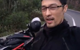 Johnny Trí Nguyễn khoe gặp tai nạn giao thông, vỡ nát xe Ducati 400 triệu