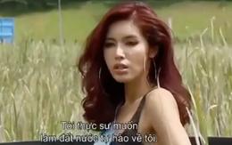 """Bị hở van tim, Minh Tú vẫn quyết chiến vì 2 chữ """"Việt Nam"""""""