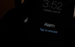 Dùng iPhone làm báo thức mỗi sáng nhưng hiếm ai để ý điều này