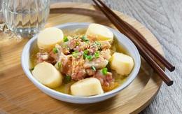 Công thức thịt hấp đậu hũ trứng bằng nồi cơm điện siêu đơn giản