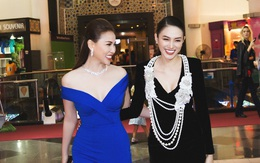 Quỳnh Thư diện trang sức 1 tỷ đồng, cùng Lê Hà xuất hiện ấn tượng tại sự kiện ở Malaysia