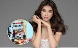 Phạm Hương khoe tủ giày hiệu gần 100 đôi chẳng kém cạnh bất cứ mỹ nhân showbiz nào!