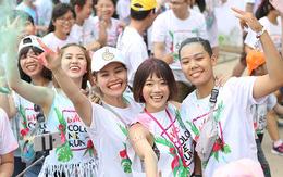 """Hàng ngàn bạn trẻ Sài Gòn đang cùng nhau """"quẩy tung nóc"""" tại Color Me Run 2017!"""