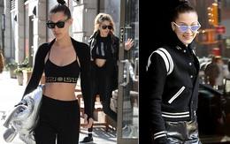 Mặc bạn trai cũ hẹn hò Selena, Bella Hadid xuất hiện vui vẻ và gợi cảm bên Gigi
