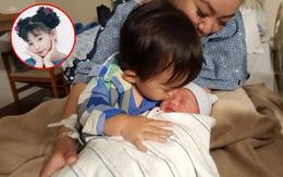 """""""Bé"""" Xuân Mai hạnh phúc đón con trai thứ hai vừa chào đời tại Mỹ"""