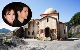 """Song Joong Ki - Song Hye Kyo có thể kết hôn ở công viên được xây theo chủ đề """"Hậu duệ mặt trời"""""""