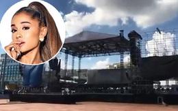 Clip: Khung cảnh sân khấu siêu hoành tráng sẽ diễn ra concert của Ariana Grande tại TP.HCM