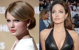 """Khi mỹ nhân thế giới cũng tự ti về khuyết điểm """"xấu xí"""": Taylor muốn mắt to hơn, Angelina ước gì môi mỏng đi"""