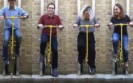 Bạn đã thử đạp xe thẳng đứng lên tầng, thay cho cầu thang và thang máy như thế này chưa?