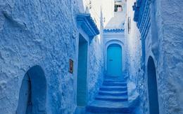 """Đặt chân tới ngôi làng mà ngôi nhà nào cũng """"khoác áo"""" màu xanh thiên đường"""