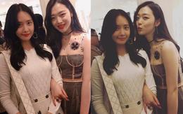 """""""Nữ thần sắc đẹp"""" Yoona và """"con ghẻ"""" Sulli trong cùng khung hình: Ai đẹp đẳng cấp hơn?"""