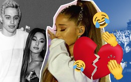 Ariana Grande huỷ hôn nhanh như huỷ show, fan không quá bất ngờ thậm chí còn vui hết cỡ