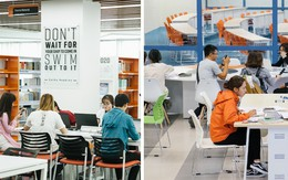Thư viện các trường Đại học ở Việt Nam: Nơi sang chảnh 129 tỷ đồng, nơi đẹp đến mức đứng đâu cũng ra ảnh nghìn like